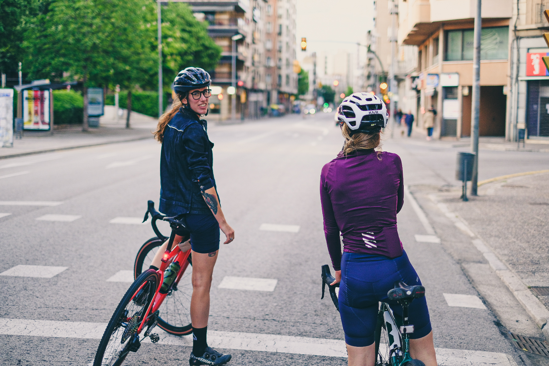Girona urban ride by gravel