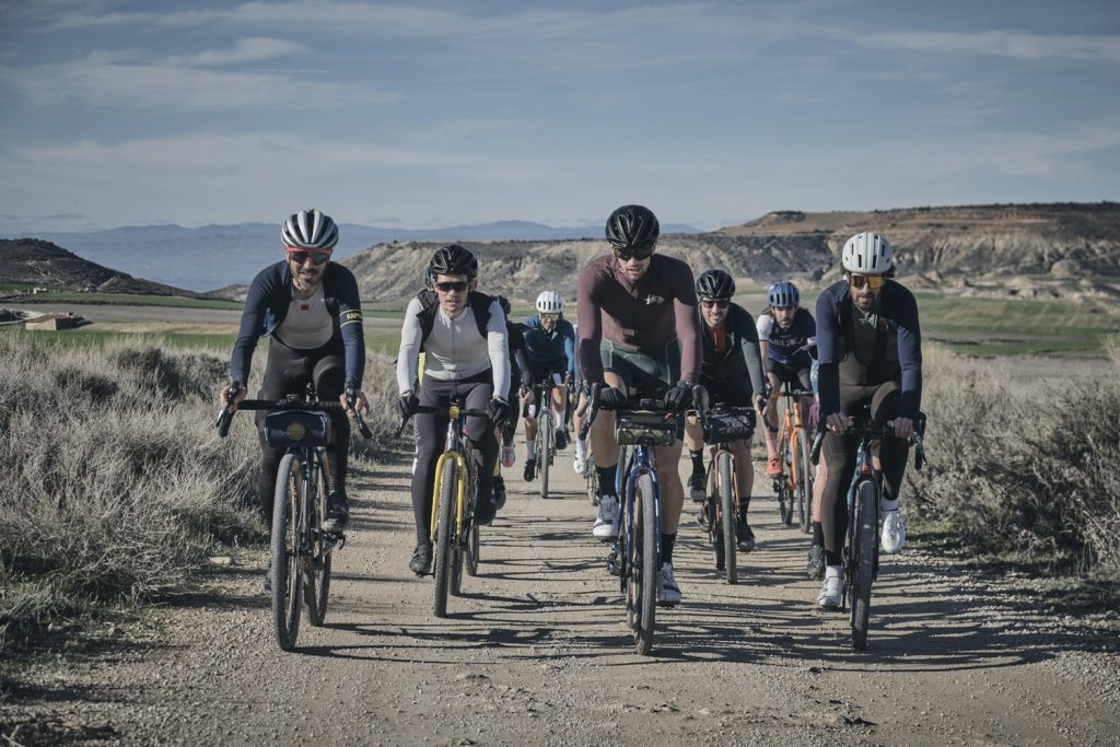 Gravel rides experience